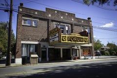 论坛剧院艺术中心, Metuchen,新泽西 免版税图库摄影