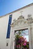 论坛的São维森特教会  库存图片