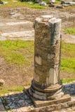 论坛罗马废墟 库存照片