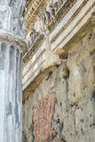论坛罗马废墟 图库摄影
