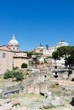 论坛罗马罗马废墟 免版税库存照片