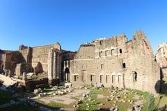 论坛trajan的罗马 免版税库存图片