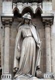 讽喻,犹太教堂,巴黎圣母院,巴黎 库存图片
