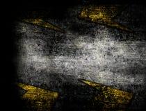 建设中与黄色条纹 库存例证