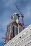 建设中伦敦的高层建筑物 免版税图库摄影