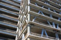 建设中的办公楼 免版税库存照片