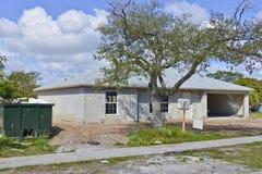 建设中的房子 免版税库存照片