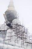 建设中菩萨的雕象 免版税图库摄影