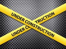 建设中金属背景 免版税库存照片