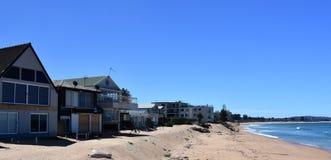 建设中仍然议院Collaroy海滩的 免版税库存图片