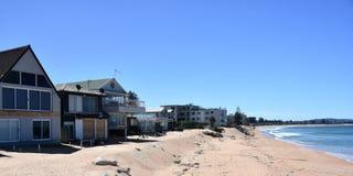 建设中仍然议院Collaroy海滩的 免版税库存照片