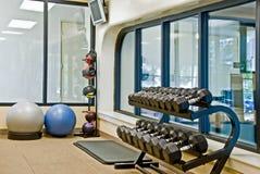 设备健身体操 图库摄影