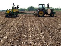 设备农场 免版税库存图片