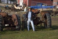 设备农夫 免版税库存照片