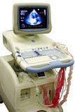 设备医疗现代超声波 免版税库存图片