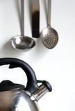 设备厨房 免版税库存图片