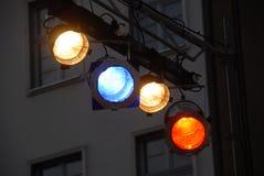 设备发光阶段 免版税库存图片