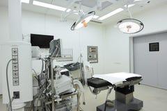 设备和医疗设备在现代手术室 免版税图库摄影