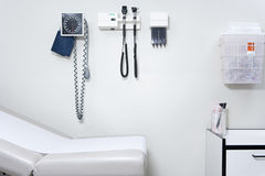 设备在医生办公室 免版税库存照片