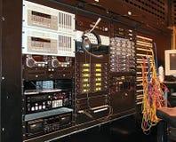 设备录音室 免版税图库摄影