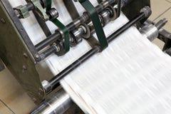 设备打印 免版税库存照片