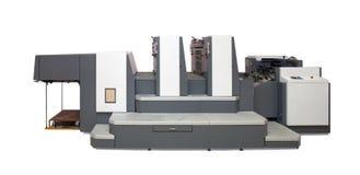 设备抵销被打印的第二部分 图库摄影