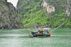 设备捕鱼 图库摄影