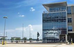 设备新奥尔良端口 免版税库存图片