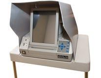 设备最新屏幕接触投票 免版税图库摄影