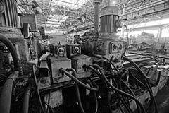 设备机械工厂 库存图片