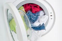 设备洗涤物 免版税库存照片