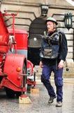 设备消防队员 免版税图库摄影