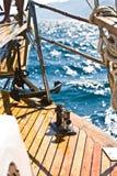 设备游艇 免版税库存照片