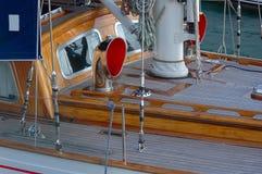 设备游艇 免版税库存图片
