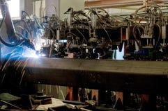 设备焊接 库存图片