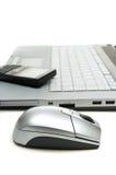 设备移动办公室 免版税库存图片