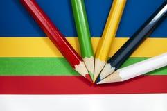 设备纸铅笔学校 库存照片