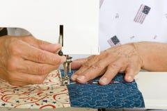 设备缝制 免版税库存照片