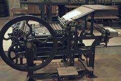设备老打印 图库摄影