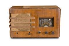 设备老收音机 免版税图库摄影
