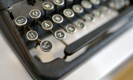 设备老键入 免版税库存图片