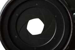 设备膜片图象目的光学平面设想 库存照片