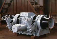 设备船造船 库存图片