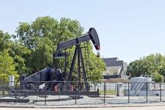 设备行业插孔油泵 免版税库存照片