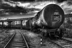 设备行业最新的石油精炼区域 库存照片