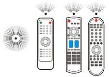 设备远程电视 向量例证