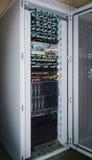 45设备以太网端口rj路由器切换电信 图库摄影