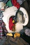 设备洗涤物 库存照片