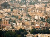 设拉子市地平线在伊朗 库存图片