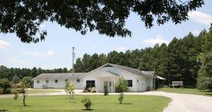 设施在西方田纳西农业研究中心 库存照片
